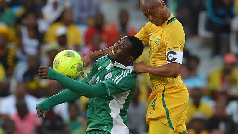 Bafana Bafana climb eight place