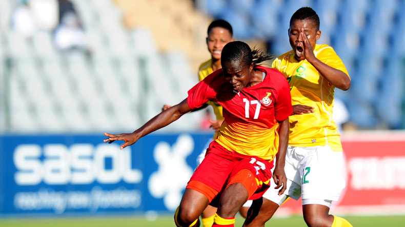 Ghana pip Sasol Banyana Banyana in a friendly encounter