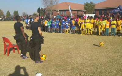 Sasol Banyana Banyana conduct coaching clinics in Zamdela