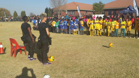 Sasol Banyana Banyana conduct coaching clinics in Zamdela