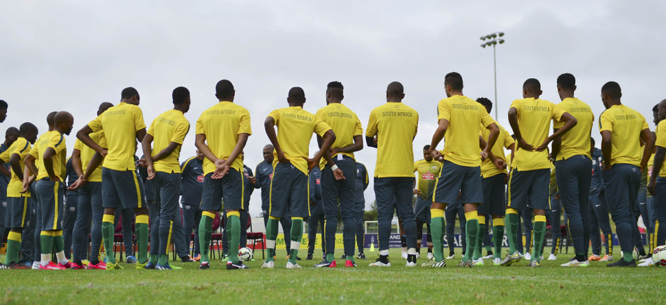 Bafana Bafana coach happy with AFCON 2017 qualifiers draw