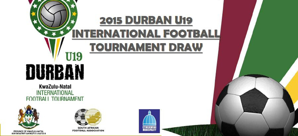 Teams paired up for Durban U19 Tournament