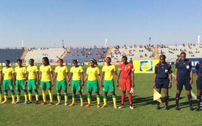 Banyana Banyana down Gabon