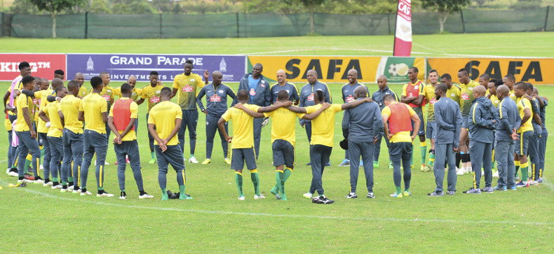 Several changes in the Bafana Bafana squad to face Gambia