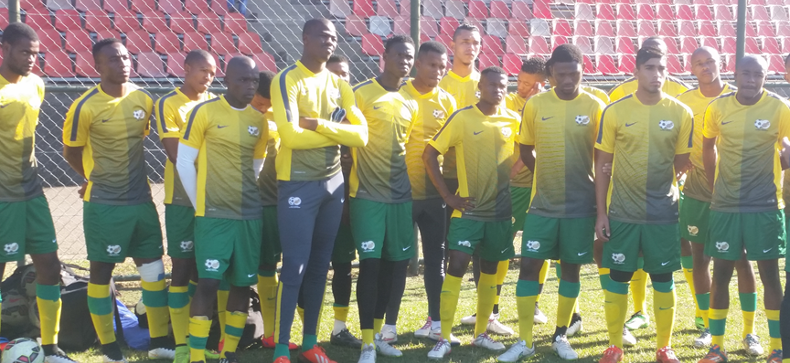 Olympic Team in Durban for Egypt clash