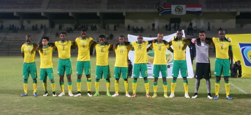 SA U23 Men's National team beat Egypt