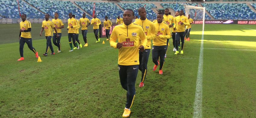 Bafana Bafana hold first training session
