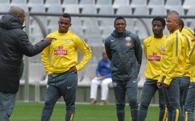 Matlaba, Van Heerden and Nyauza withdraw from Bafana Bafana squad