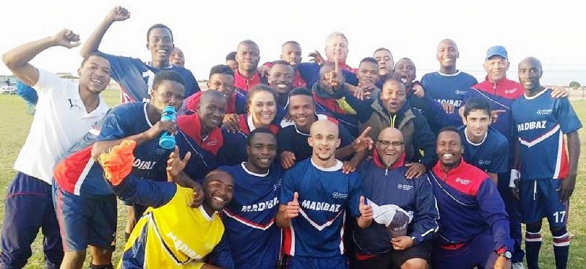 Madibaz football promoted to SAB League