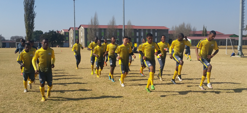 Happy to be back – Ntseki