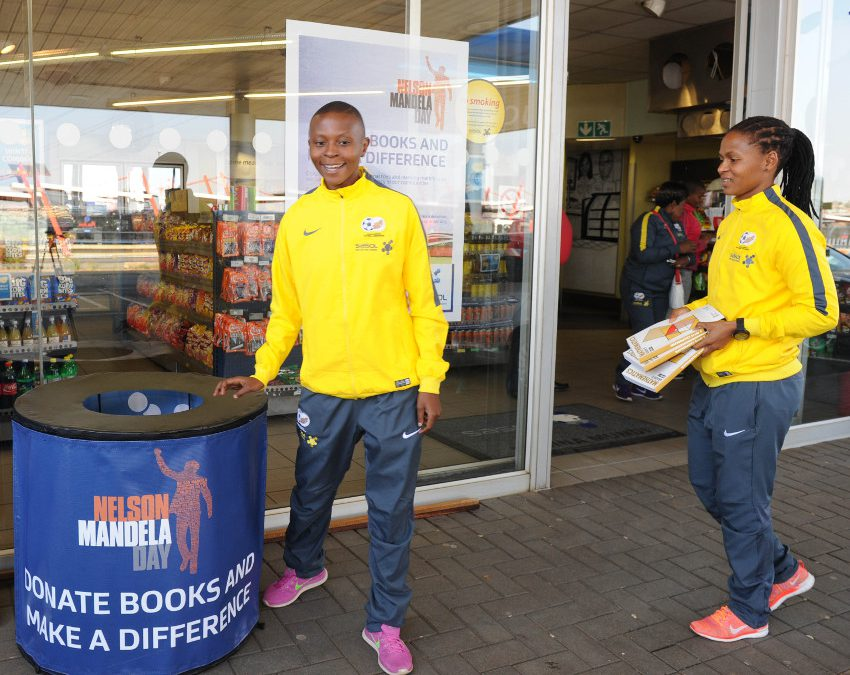 Banyana Banyana and Sasol step up for education