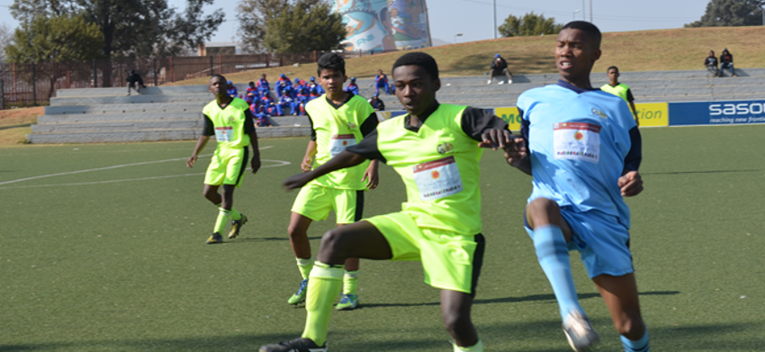 Goals galore at Nelson Mandela Youth Challenge Day 2