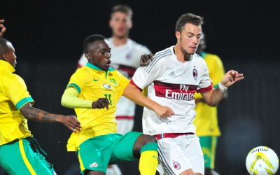 SA U19 dig deep to beat AC Milan and reach semifinals
