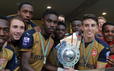 Arsenal lifts the 2015 Durban U19 International Football Tournament title