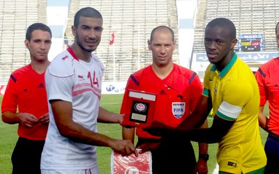 SA U23 National team hammer Tunisia in first friendly
