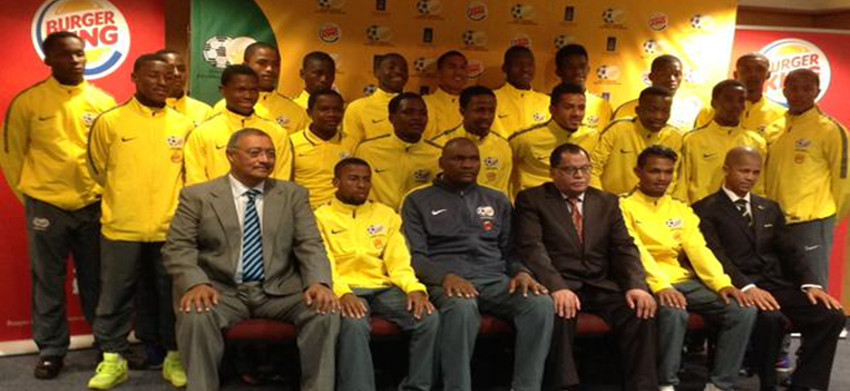 South Africa u17 squad for Chile 2015 named