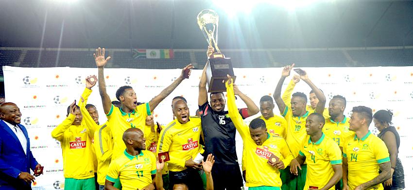 Makola toast for Bafana Bafana as they edge Senegal