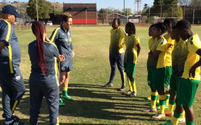 SA U20 Women's National in camp for 2016 WC qualifiers