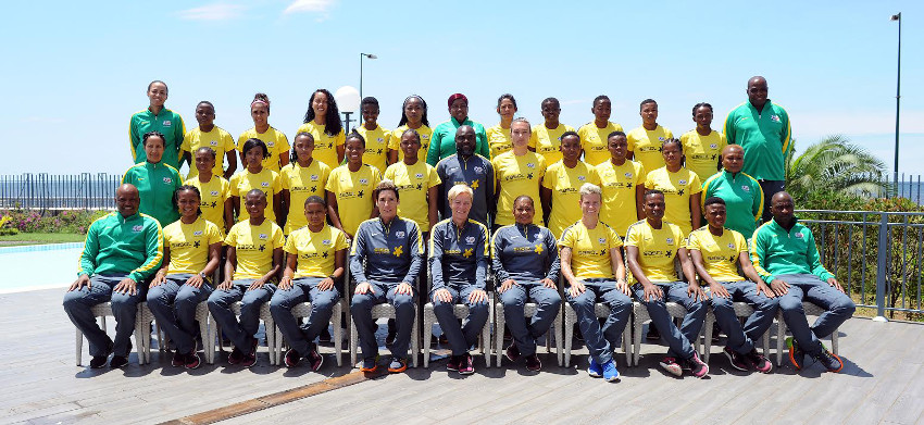 Banyana Banyana lauded for qualification of 2016 Olympic Games