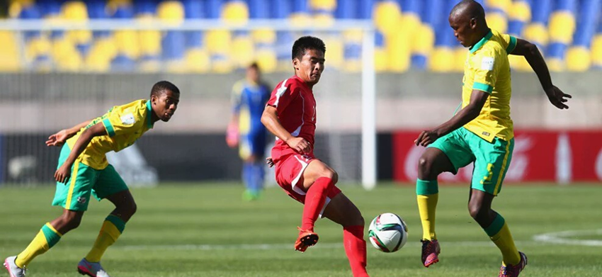 South Africa and Korea DPR share the spoils