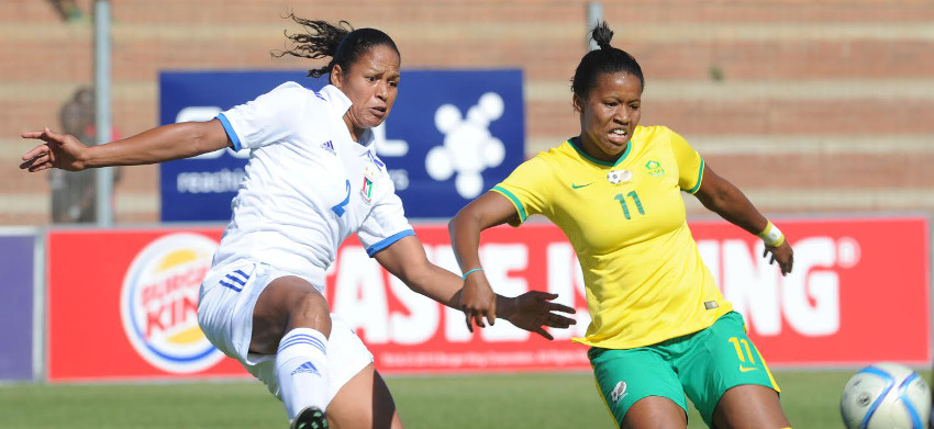 Banyana Banyana and Equatorial Guinea ends in a stalemate