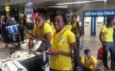 Sasol Banyana Banyana depart for Equatorial Guinea