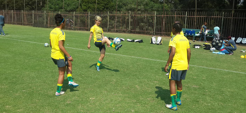 Van Wyk hopes award will inspire Banyana Banyana