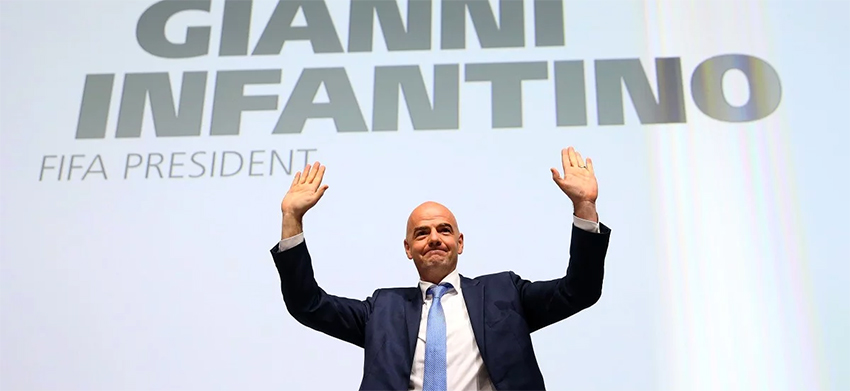 Gianni Infantino elected FIFA President