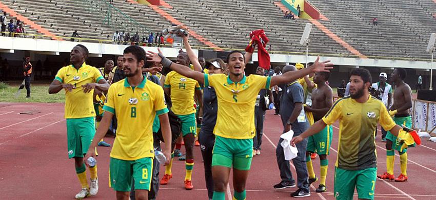 SA u23 to play Brazil counterparts March 2016