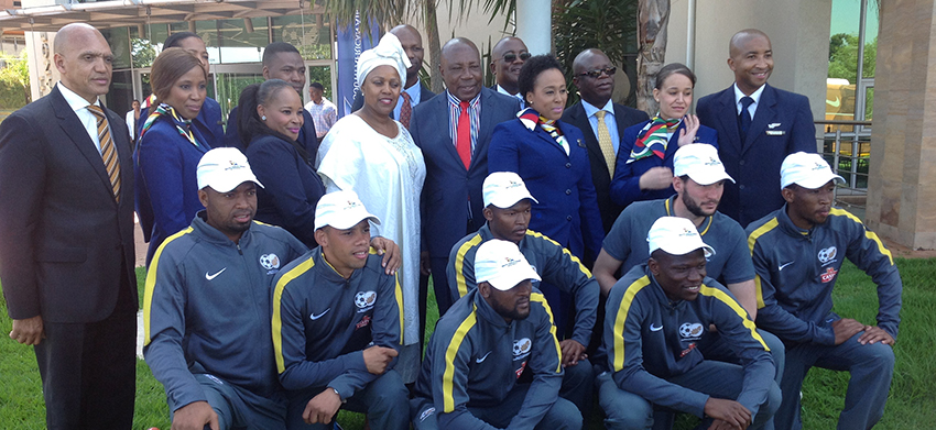 SAA, SAFA in historic partnership