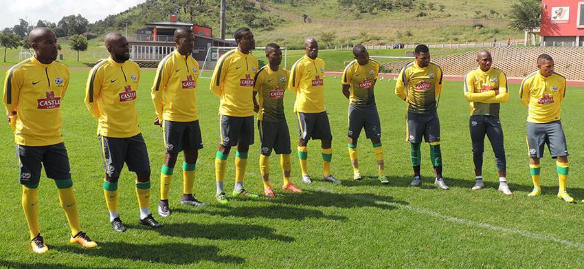 Bafana Bafana depart for Cameroon