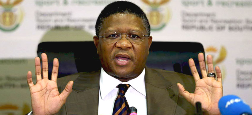 Minister Mbalula rubbishes FIFA claims on 2010 FIFA World Cup