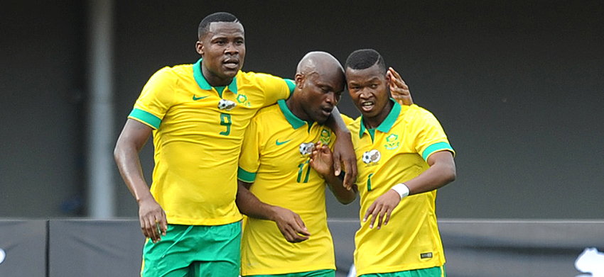 Gallant Bafana Bafana draw with Indomitable Lions