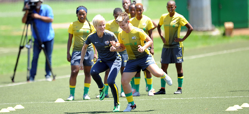 Banyana Banyana draw with Cameroon in last friendly