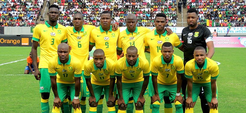 Mashaba makes three changes to 2nd leg match vs Cameroon