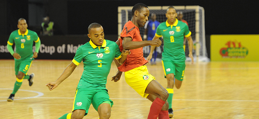 South Africa lose opening FUTSAL match