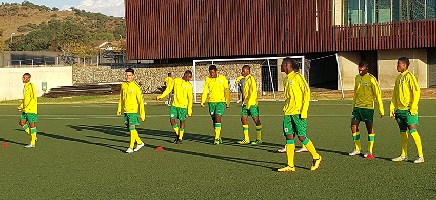 Senong happy with first day training