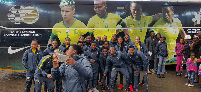 Come celebrate with Banyana Banyana and Zimbabwe – Amanda Dlamini