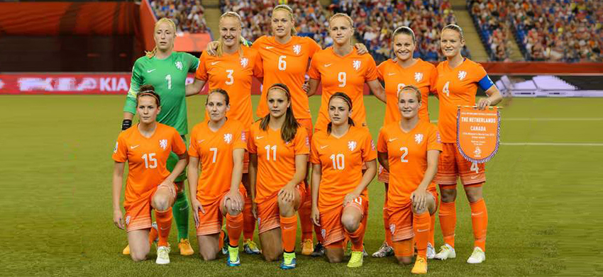 Netherlands names a strong squad to take on Banyana Banyana
