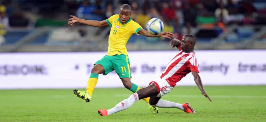 Bafana Bafana vs Gambia date confirmed