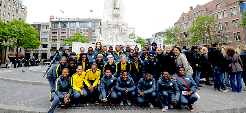 Banyana Banyana ready for the Netherlands