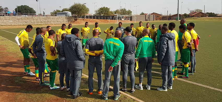 COSAFA Cup Squad assemble for training