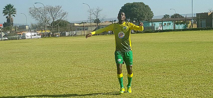 We want an early goal – Malepe