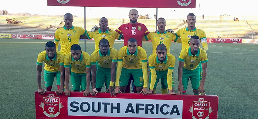 Bafana Bafana humble Sihlangu of Swaziland