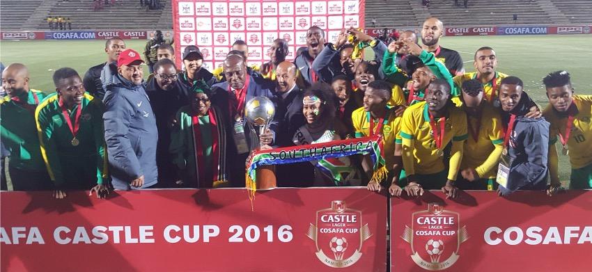 Bafana Bafana crowned COSAFA Champions