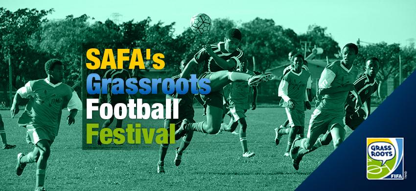 SAFA's Grassroots Football Festival