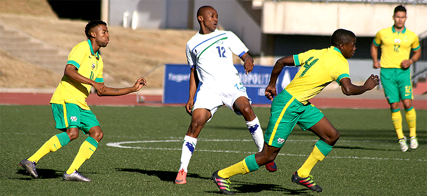 Amajita ready for Lesotho in second leg