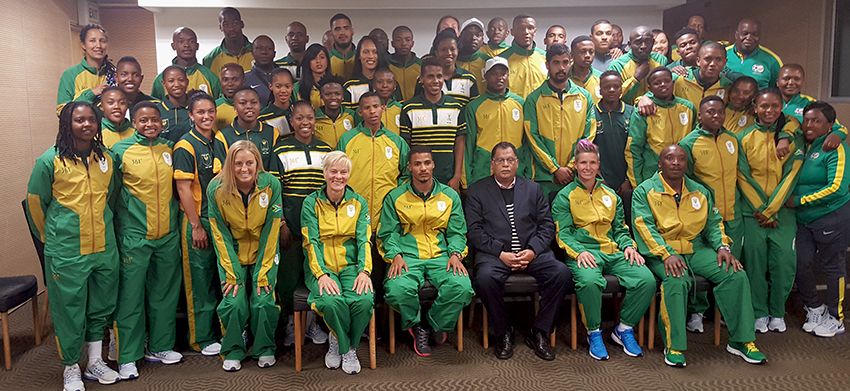 SAFA President wishes Olympic Teams well