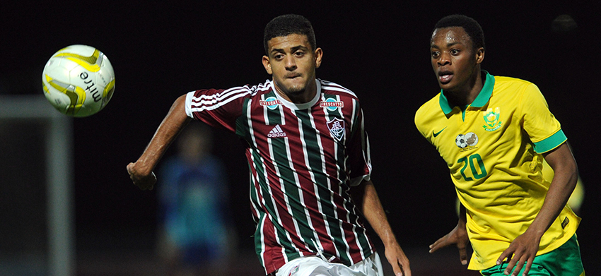 SA National u19 maintain winning streak with victory over Fluminense