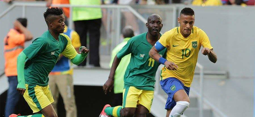 South Africa hold hosts Brazil to famous draw